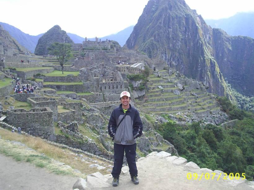 Travessia América do Sul - Macchu Picchu - Arquivo Pessoal
